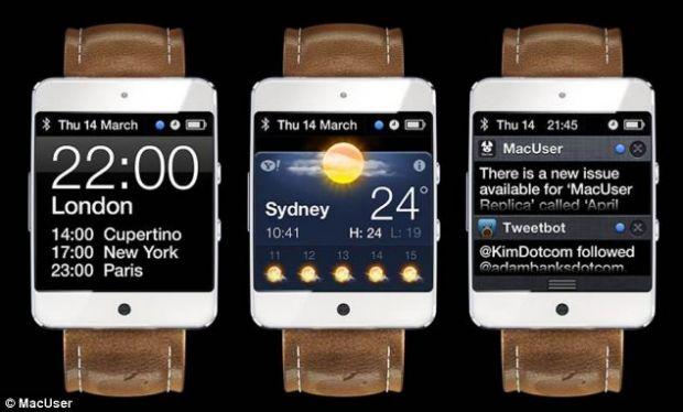 Noi imagini care circula pe internet dezvaluie cum ar arata iWatch, noul gadget de la Apple