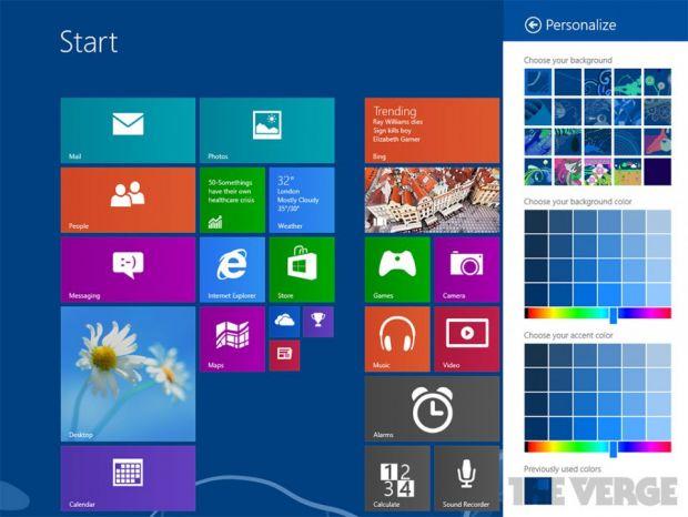 Windows Blue in imagini aparute din greseala pe Internet. GALERIE FOTO + VIDEO Cum arata