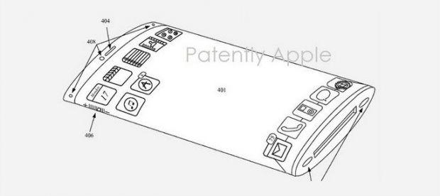 Patentul Apple pentru un posibil iPhone 6: Fara butoane sau bucati din aluminiu, dar cu doua displayuri
