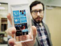 Windows Phone Surface N. Cum arata smartphone-ul transparent cu ecran 4K. VIDEO