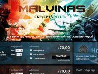 Site-ul firmei argentiniene care a creat hartile pentru nivelul Malvine din noul Counter Strike a fost atacat de hackerii bitanici