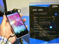 ZTE Geek, un telefon pentru cunoscatori. Are Intel Clover Trail+