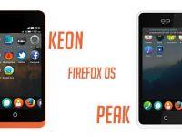 Keon si Peak, telefoane cu Firefox OS, vor avea preturi mai mult decat accesibile