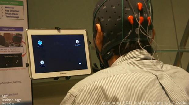 Smartphone si tableta controlate cu gandul, noua tehnologie la care lucreaza Samsung