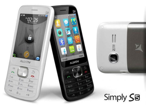 Allview Simply S5, un telefon clasic la un pret incredibil de mic