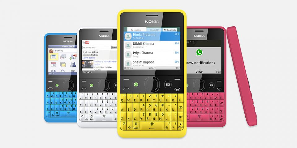 Nokia Asha 210, un telefon QWERTY ieftin, la care bateria tine pana la 46 de zile
