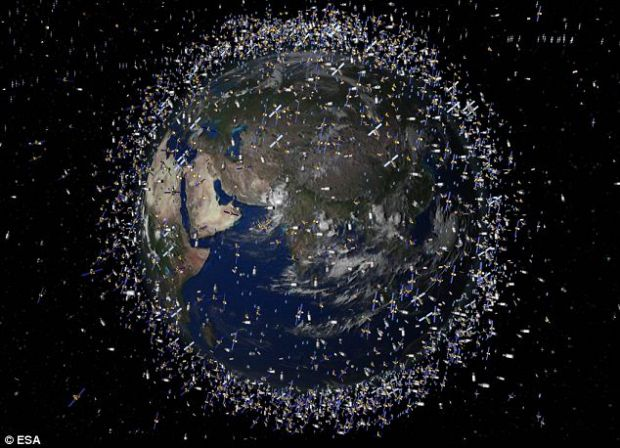 Satelitul cu panze, solutia pentru a curata spatiul de gunoaie