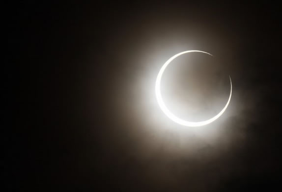 Inelul de foc  din Australia. Video si foto cu eclipsa de Soare