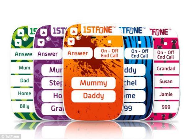 1stFone, telefonul destinat celor mici