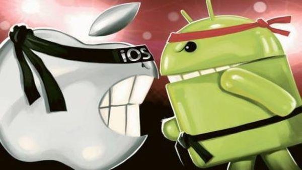 Telefonul mobil obisnuit dispare. Vanzarile de smartphone-uri cresc spectaculos. Android vs. iOS
