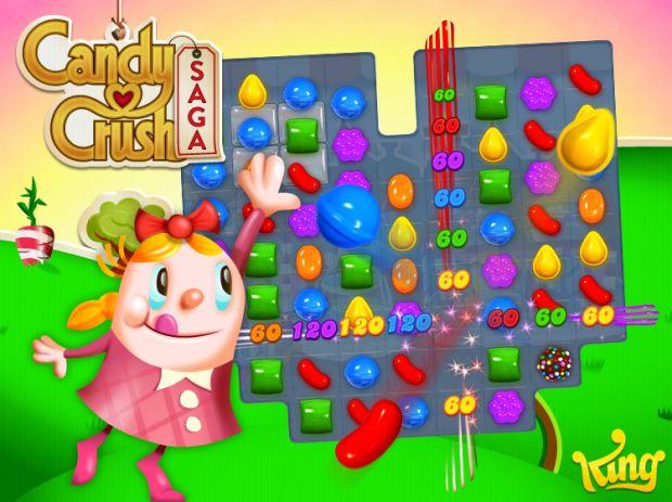 Candy Crush Saga este jocul #1 pe mobile