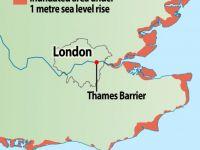 Cresterea nivelului marii ameninta Londra