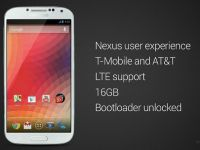 Samsung Galaxy S4  Google edition . Android in forma cea mai pura