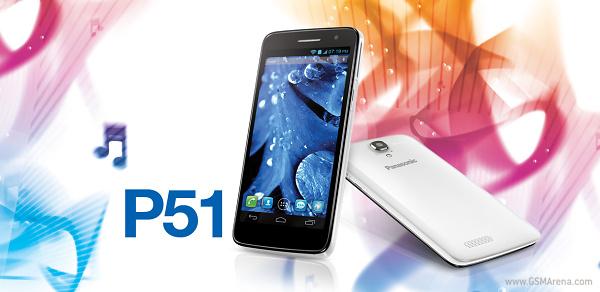 Panasonic P51, un smartphone quad-core proaspat lansat