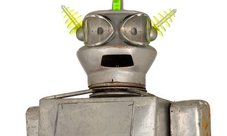 Un robot construit in anii  50, subiect al unei licitatii la Londra