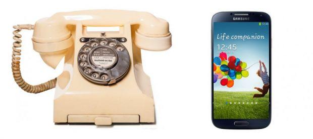 Gadgeturile copilariei. De la telefon cu disc, la Samsung Galaxy S4
