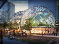 Nou sediu Amazon din Seattle, o bijuterie a ingineriei