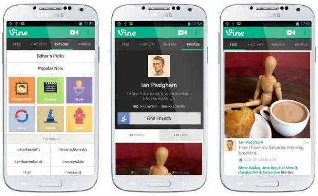 Vine, o noua aplicatie pentru Android, imbina imaginile de tip gif cu sunete