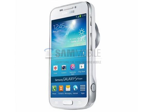 Samsung Galaxy S4 Zoom, prima poza oficiala. Cum arata si ce stie gadgetul care se va lansa luna asta