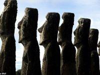 Celebrele statui de pe Insula Pastelui ar putea fi ridicate de o civilizatie misterioasa