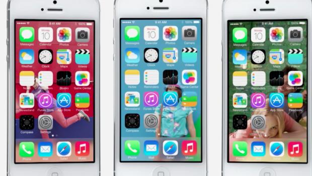 iOS 7, un look total diferit, cateva functii noi