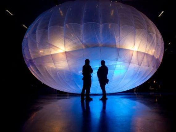 Google vrea Internet peste tot prin baloane inaltate la limita atmosferei