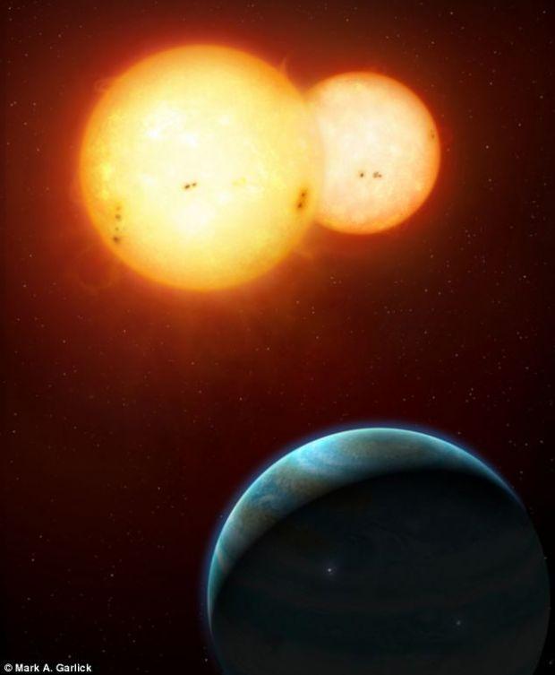 Planetele cu doi Sori, mai bune pentru viata decat cele care orbiteaza in jurul unei singure stele