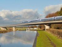 Au aparut primele fotografii cu trenul care va circula in Marea Britanie cu viteza de 360 de km/h