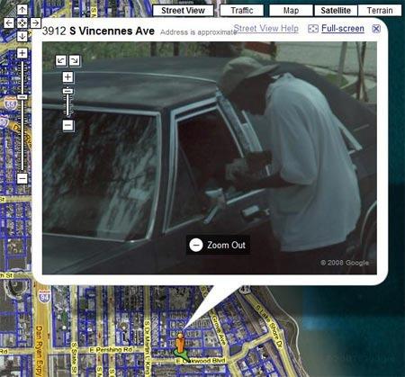 Cele mai nebune imagini surprise cu Google Street View GALERIE FOTO