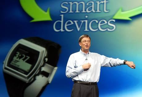 Ceasul inteligent de la Microsoft va fi construit din aluminiu transparent