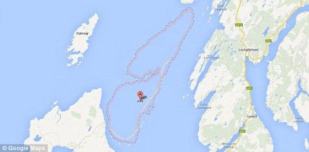 Google isi cere scuze pentru stergerea Insulei Jura din hartile sale