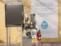 Masina care transforma transpiratia in apa potabila, ca in SF-ul Dune