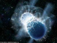 Tot aurul de pe Terra provine din coliziunile cu stelele inainte de stingere