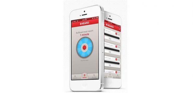 Heard, aplicatia pentru iPhone care inregistreaza si stocheaza ceea ce-i spui