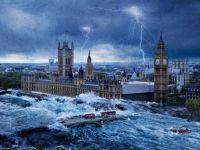 Apocalipsa din Marea Britanie: racirea extrema a vremii, cresterea nivelului Tamisei, ploi de meteoriti