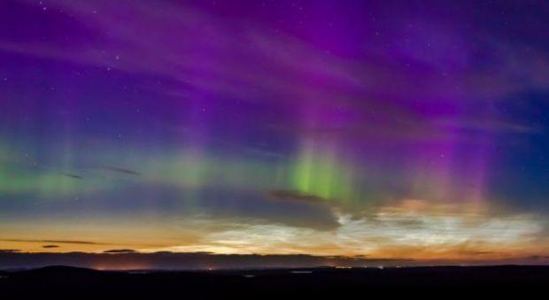Un astronom a realizat imagini spectaculoase deasupra Scotiei VIDEO