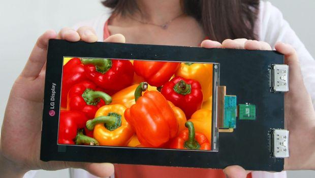 LG creeaza cel mai bun ecran de telefon vazut vreodata. Densitatea de pixeli este extraterestra
