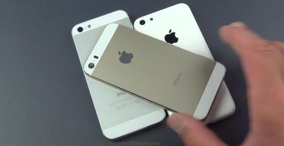 iPhone 5S auriu si iPhone 5C low cost au aparut intr-un VIDEO