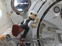 Kirobo, primul robot care ne  vorbeste  din spatiu VIDEO