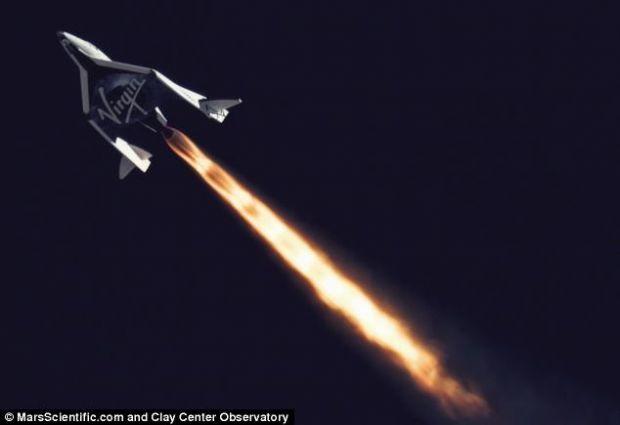 SS2, racheta Virgin Galactic, a atins stratosfera, ceea ce inseamna ca e gata pentru primul voiaj privat VIDEO