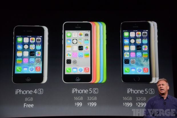 LIVE TEXT iPhone 5S si iPhone 5C s-au lansat. Specificatiile si pretul