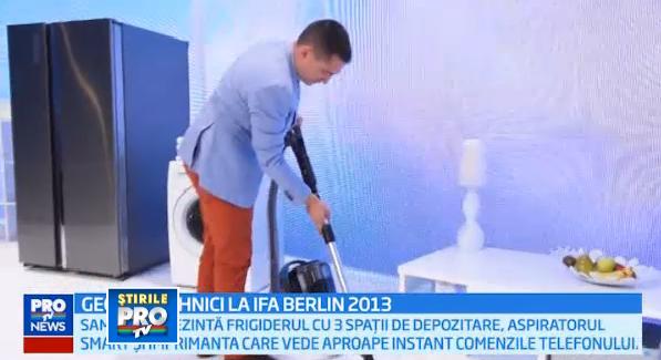 George Buhnici, de la IFA Berlin: imprimanta care vorbeste cu telefonul si aspiratorul smart