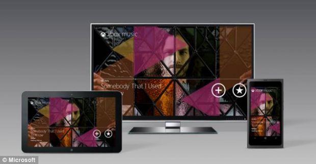 Microsoft imbunatateste Xbox Music, serviciul care poate fi accesat de oricine are consola sa