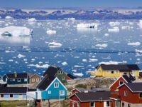 Groenlanda devine mai verde. Nu e totul roz, insa