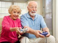 Jocurile video ii pot ajuta pe batrani sa reziste mai mult in fata problemelor cauzate de varsta