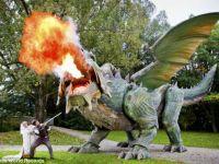 Fanny, cel mai mare dragon-robot din lume