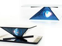 Aplicatia care iti transforma tableta sau telefonul intr-un proiector de holograme. Cum va puteti face singuri filme 3D