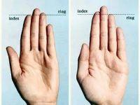 Esti atragator? Afla ce spun degetele despre tine: FOTO
