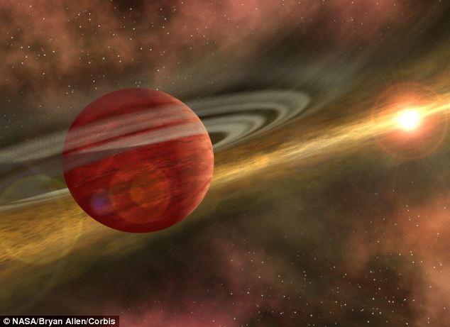 O planeta de 8 ori mai mare decat Jupiter ar putea oferi informatii pretioase