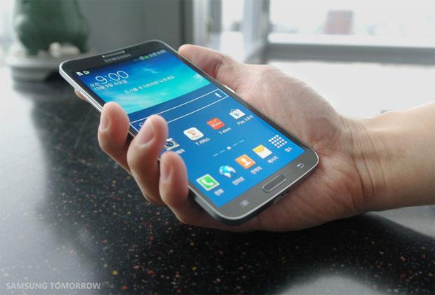 Samsung Galaxy Round, telefonul cu ecran curbat, va fi lansat pe 10 octombrie